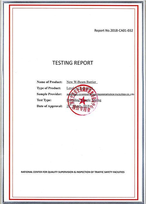 Crash Test Report